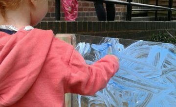 This week we have been excited to welcome back some more children to nursery and they have been super busy, especially getting messy with the paints.