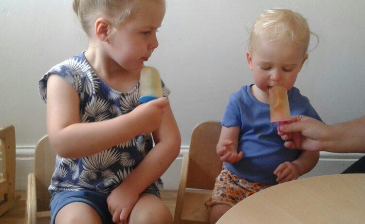 Stourbridge – Making & Eating Yummy Ice Lollies!