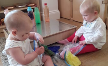 The Babies have been really busy this week, exploring their different senses.
