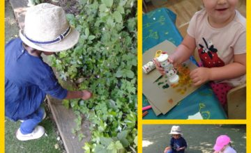 To welcome the children back on their first day at nursery, we have taken part in lots of exciting activities!