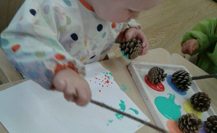 Bromsgrove – Pre-Toddlers Get Painting!