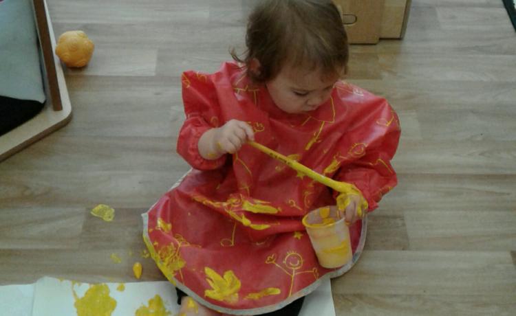 Stourbridge – Babies Fun Mark Making