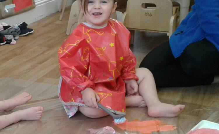 Stourbridge – Toddlers Explore Mark Making