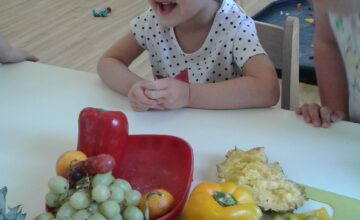 Last week Preschool 2 at Hinckley have been exploring healthy eating, inspired by the story Oliver