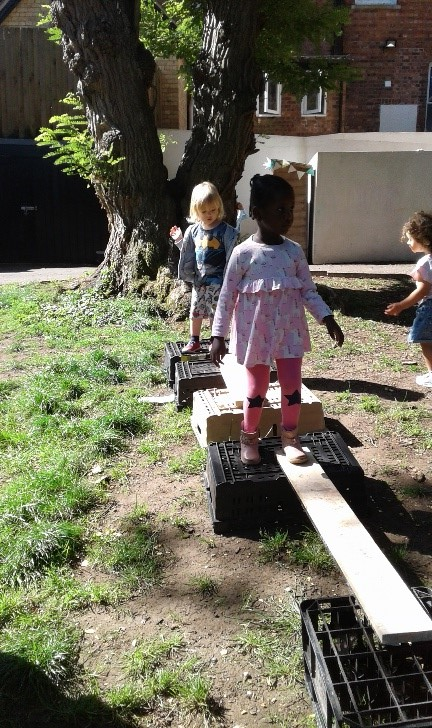 Wolverhampton toddlers have been exploring risky play