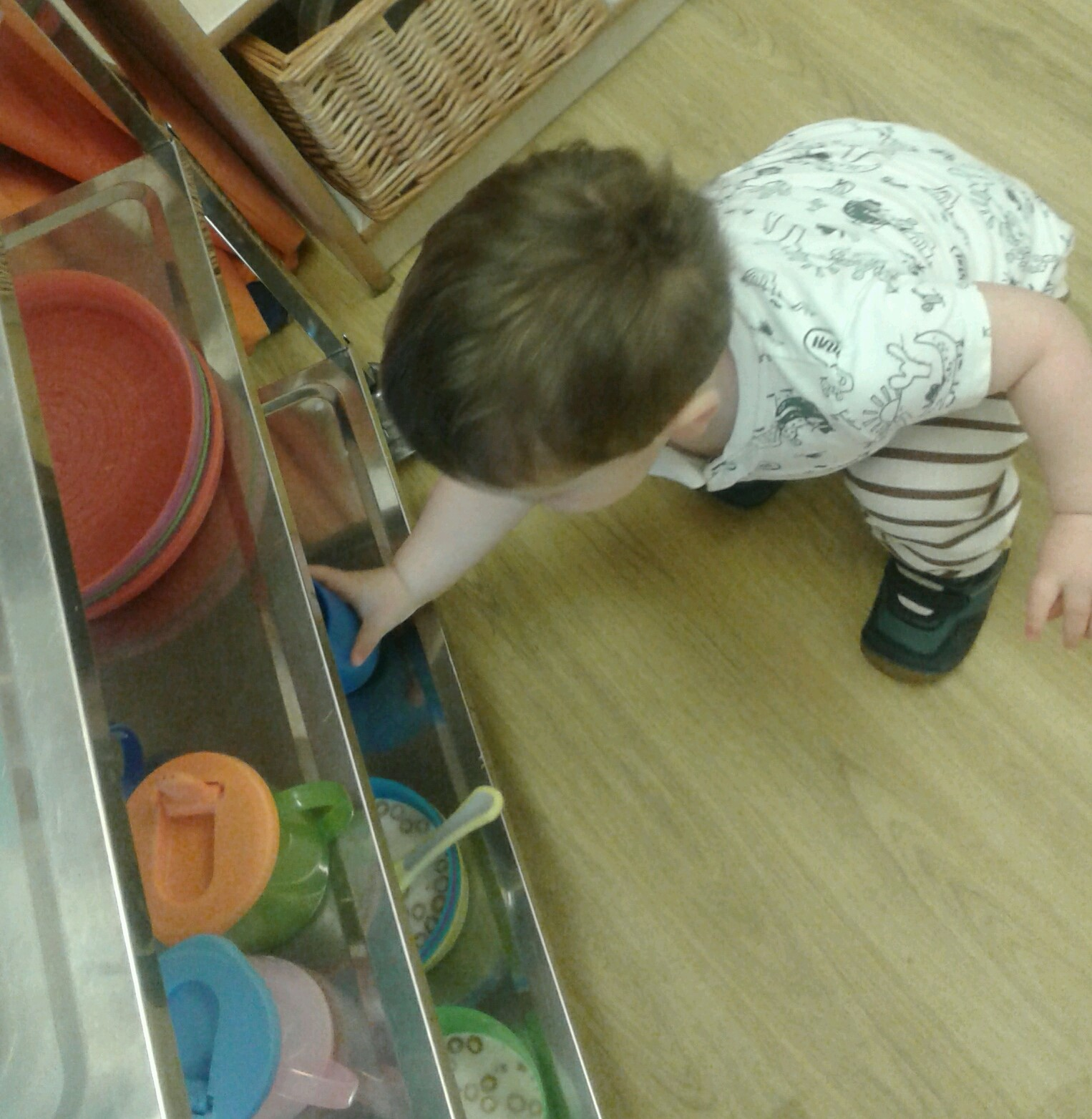 The Toddlers really love making choices and telling us what they would like to eat or do!