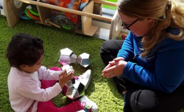 The Kings Norton Pretoddlers have enjoyed exploring autumn and making new friends