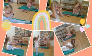 Preschool have enjoyed a fun, relaxing yoga session