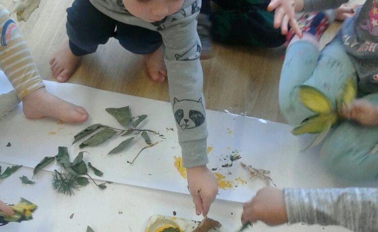 Hinckley – Preschool explore autumn