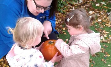 The Halloween fairy wrote the children a letter asking them to do a very special job
