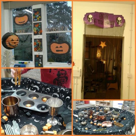 The children are enjoying a spook-tacular week of Halloween fun