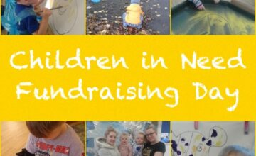 The children have been fundraising for Children in Need