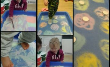 The children have all been exploring Diwali across the nursery