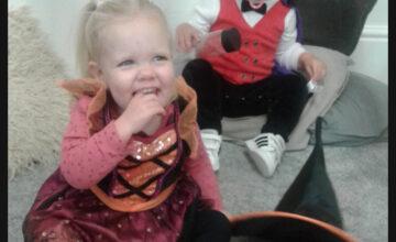 The Gloucester children enjoyed lots of Halloween fun last week