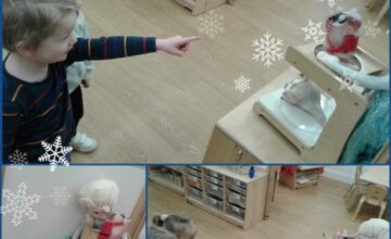 The children were shocked when they found Enzo in a block of ice!