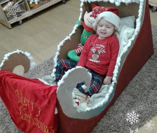 Worcester – Santa's sleigh