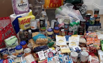 The Kings Norton families have been collecting essential items in support of their local foodbank
