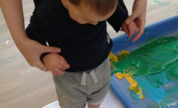 A fun and messy way to explore our