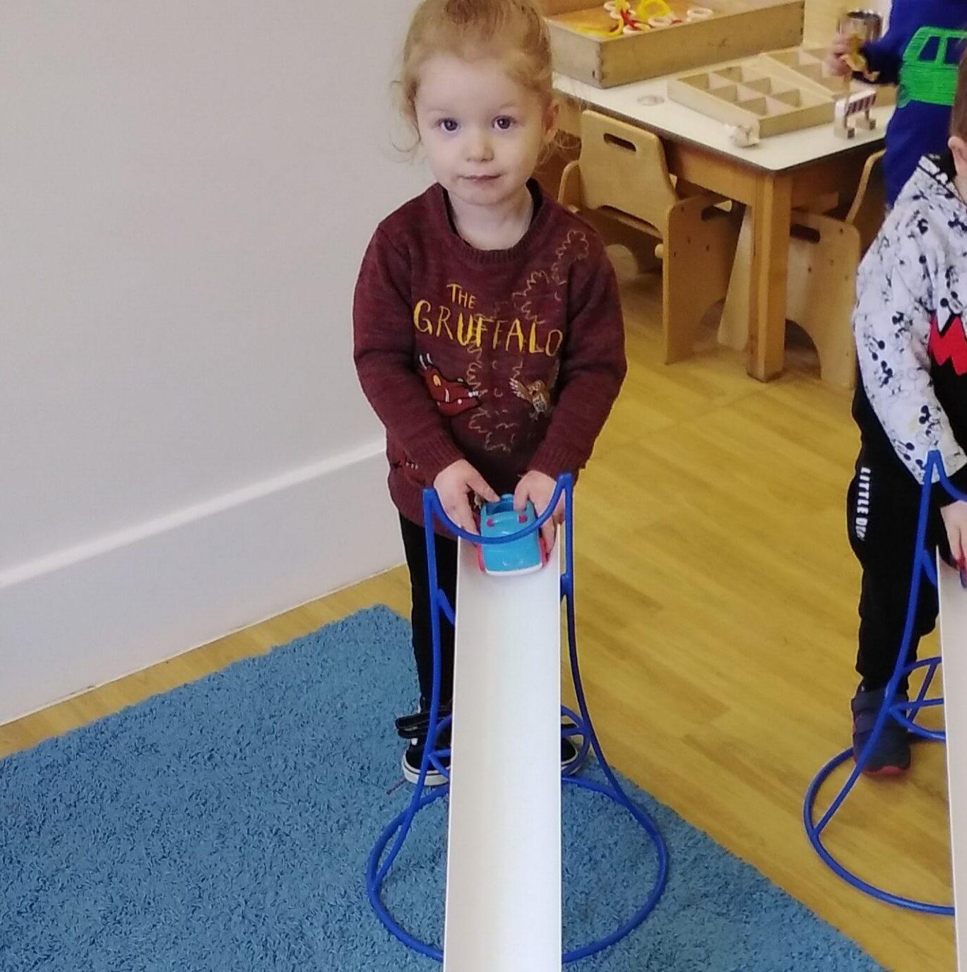Preschool One have enjoyed ramp racing
