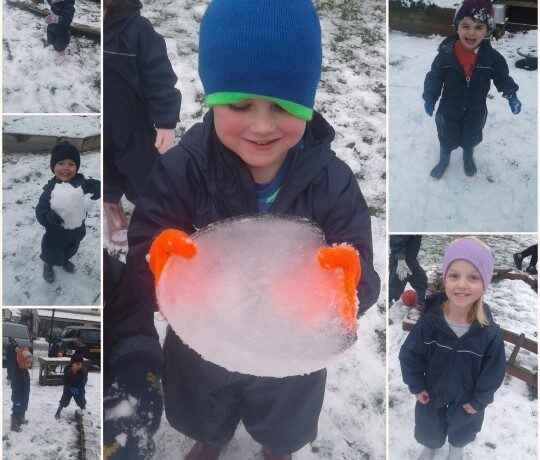 Bromsgrove – Snow play