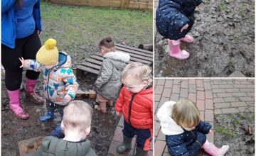 We love learning through play with our friends every day!
