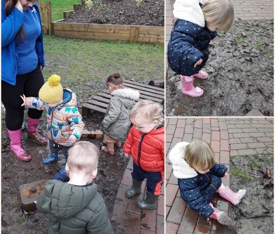 Kings Norton – February fun with the Pretoddlers