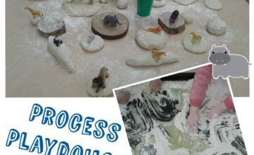 Preschool have been exploring play dough and enjoyed making it from scratch