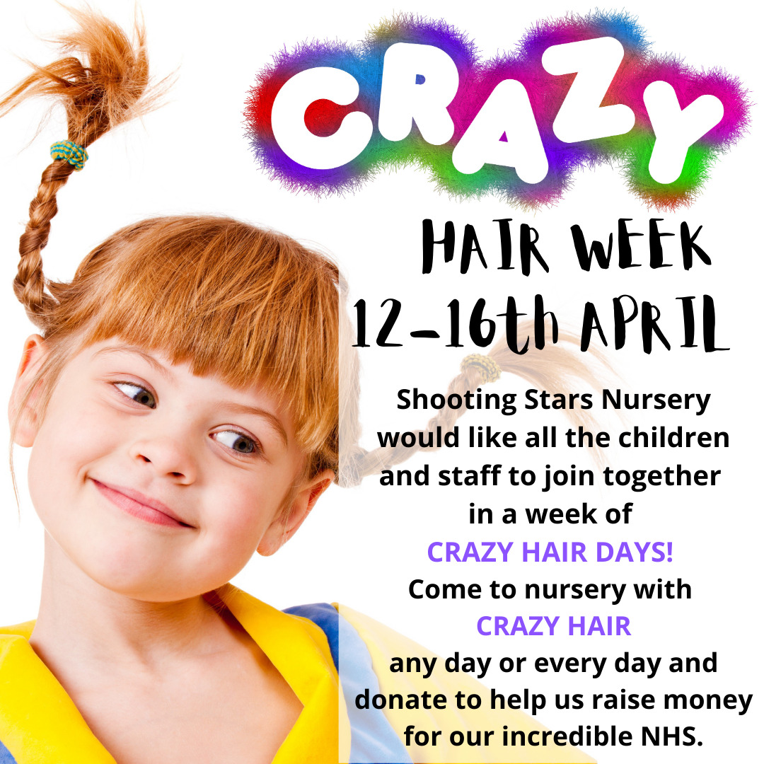 Join in the fun any day or every day with crazy hair!