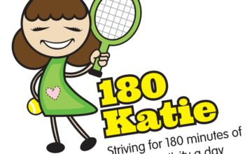 The children love getting active with 180 Katie!