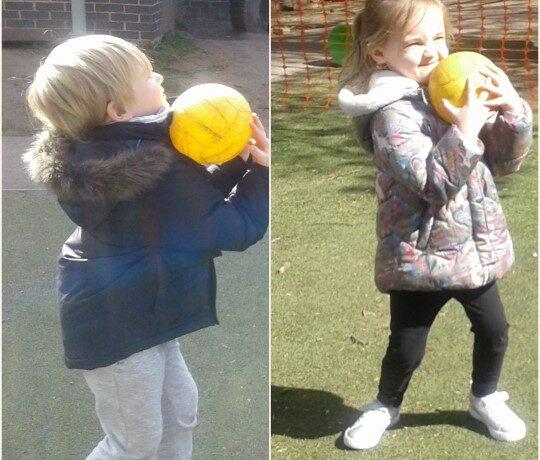Hinckley – Having a ball
