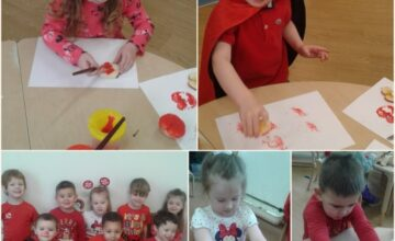 We raised £100 for Comic Relief