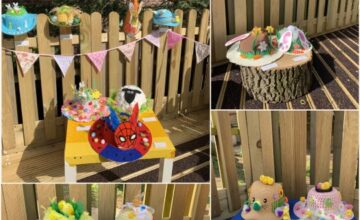The children are enjoying lots of easter and spring time fun at nursery