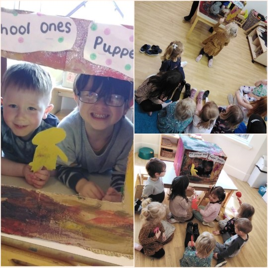 ...Puppet shows!