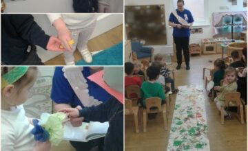 Wedding bells are ringing in the toddler room today ahead of Tanita