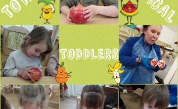 The toddlers have been tickling their taste buds with exotic fruits