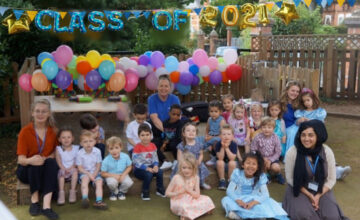 We celebrated our final days of preschool with all our friends
